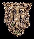 Wandkonsole Greenman - Weisheit | Waldgeist Gesicht Ablage Ent Baum