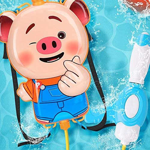 Juman634 Cartoon Sprayer Simulation Puppe Tank Rucksack Wasser Spielen Spielzeug Strand Kinder Wasser Sprayer Ziehen Tasche Simulation Playset (Wasser Tank Sprayer)