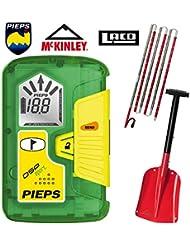 Pieps/McKinley/LACD - Juego de utensilios para avalanchas (incluye pala y sonda, aluminio)