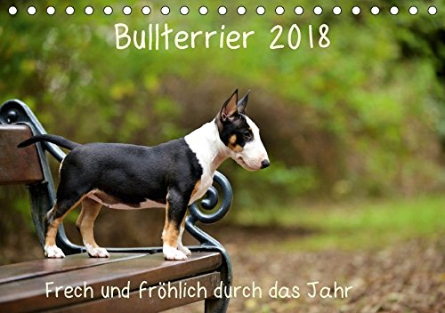 Bullterrier 2018 Frech und fröhlich durch das Jahr (Tischkalender 2018 DIN A5 quer): Ein toller Kalender für die Freunde und Liebhaber der Hunderasse ... (Monatskalender, 14 Seiten ) (CALVENDO Tiere) (Liebhaber Freunde Und)