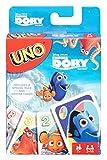 Mattel Games DRB64 UNO Disney Pixar Findet Dorie Kartenspiel für Kinder, geeignet für 2 - 4 Spieler, Spieldauer ca. 15 Minuten, ab 7 Jahren