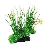 Generic Artificial Ornament Green Underwater Plant Fish Tank Aquarium Décor - 20*20 cm
