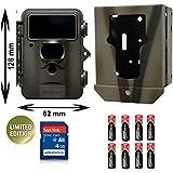 Kit promotionnel pour photographier la vie sauvage: dörr snapShot lIMITED platine noir 5 avec boîtier en métal