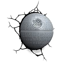 Eurobric 2000 3D DECO LIGTH Death Star, Gris (Reacondicionado)