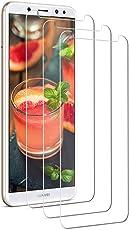 Yokimico [3 Stück Huawei Mate 10 Lite Panzerglas Schutzfolie Displayschutzfolie Gehärtetem Glas 9H Härte Ultra Transparenz für Huawei Mate 10 Lite