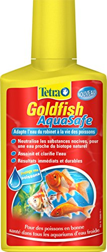 TETRA Goldfish AquaSafe - Conditionneur d'Eau pour...