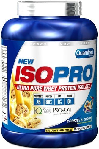 Quamtrax - ISO Pro CFM - 2,3 kg - Chocolate Blanco