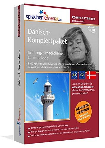 Dänisch-Komplettpaket: Lernstufen A1 bis C2. Fließend Dänisch lernen mit der...
