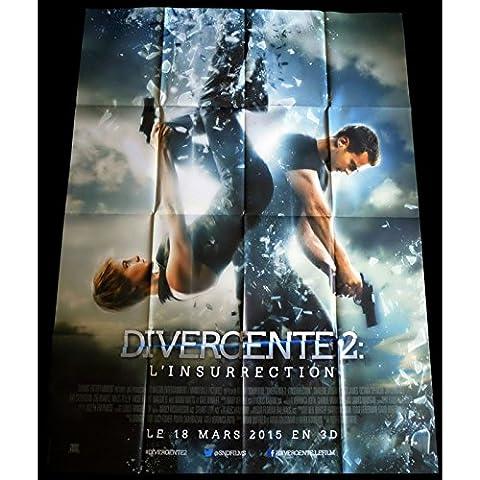 DIVERGENTE 2 Affiche de film 120x160 - 2015 - Shailene Woodley, Robert Schwentke