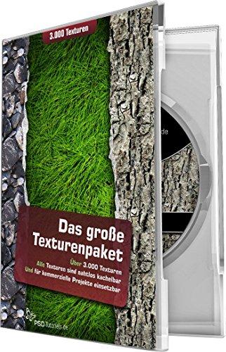 Das große Texturenpaket – 3.000 Texturen (Win+Mac+Tablet)