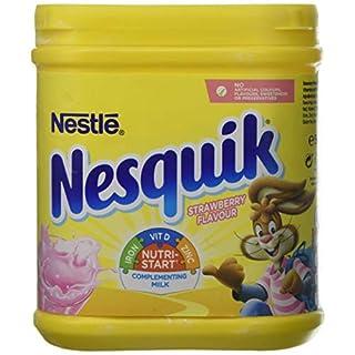 Nesquik Strawberry Powder Tub, 500 g (Pack of 10)