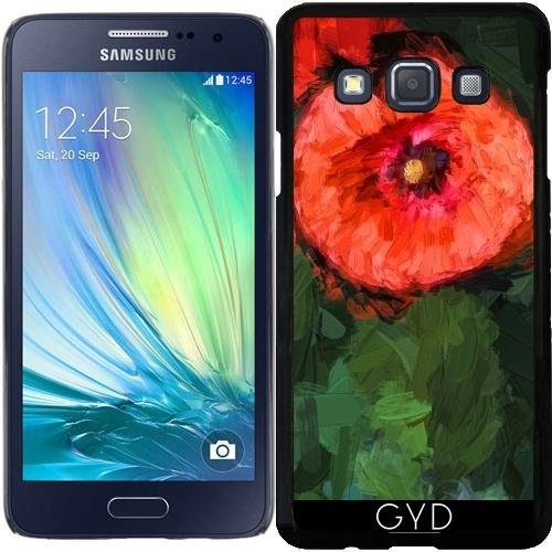 Custodia Samsung Galaxy A3 (SM-A300) - Monet Ha Detto: Papaveri 4 by UtArt