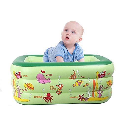 Preisvergleich Produktbild Kleinkinder und Kleinkinder Aufgeblasen Pool Dicker Isolierung Zuhause Meerball-Pool Kind PVC Karikatur Tier Pool spielen