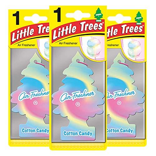 Little Trees LTZ046 Lufterfrischer, Cotton Candy, 3 Stück -