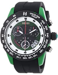 Nautec No Limit Herren-Armbanduhr XL Typhoon 2 Chronograph Quarz Plastik TY2 QZ/RBPCBKGR-WH