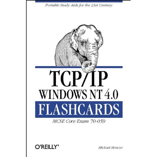 TCP/IP WINDOWS NT 4.0 FLASHCARDS