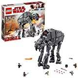 LEGO 75189 Star Wars Episode VIII First Order Assault Walker Building Set, Five Mini Figures, All Terrain Heavy Artillery Toy