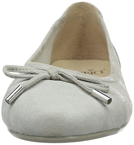 Caprice 22105, Ballerines Femme Gris (Lt Grey Comb)