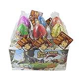 Dino Dinosaur Dragon Eggs Hatching Growing Toy Grande Pack di 6 pezzi, crepa colorata di Yeelan immagine