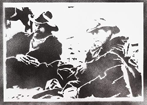 Póster Open Range Robert Duvall Kevin Kostner Grafiti