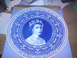 wedgewood celebration plate of the golden jubilee