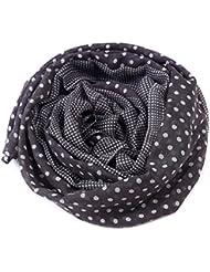 MZMZ ULTRA apretado el cuello mujer cálido Otoño e Invierno bufanda de punto de onda dot Voile clásica bufanda bufanda