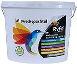 RyFo Colors Allzweckspachtel 25kg (Größe wählbar) - Füllspachtel weiß, Allzweckspachtelmasse, witterungsbeständig, Instant-Spachtel, für innen und außen