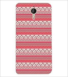 PrintDhaba Tribal Pattern D-5418 Back Case Cover for LETV LE 1 PRO ULTRA (Multi-Coloured)