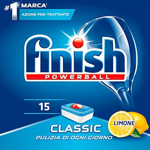 Finish Pastiglie Lavastoviglie Classic Limone 15 Tabs