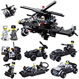 BOROK Mini Figurines Militaires SWAT Soldat Bricks Jouet Blocs de Construction...