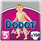 Dodot Activity, Talla 5, 108 pañales