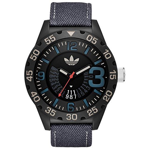 Adidas Originals Herrenuhr Analog Quartz Nylon Grau ADH3156