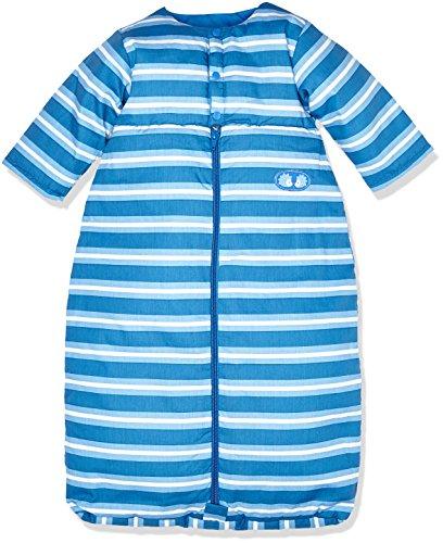 Twins Baby-Jungen Schlafsack langarm mit Streifen, Mehrfarbig (Mehrfarbig 3200), 92 (Herstellergröße: 90)