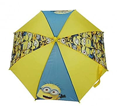 Character Despicable Me Minions 'Gang' Nylon Umbrella - cheap UK light shop.
