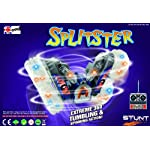 Splitster ? Extreme Tumbling & Spinning Stunt Car – Tumbles – Splits Down The Middle – 360 Stunts – Lights – AS SEEN ON
