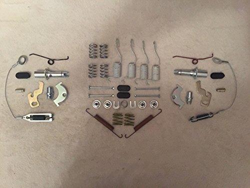 Freni posteriori Carlson, kit di riparazione completo Cherokee XJ 1990–2000 / Wrangler 1990–2000fusti 22,9cm