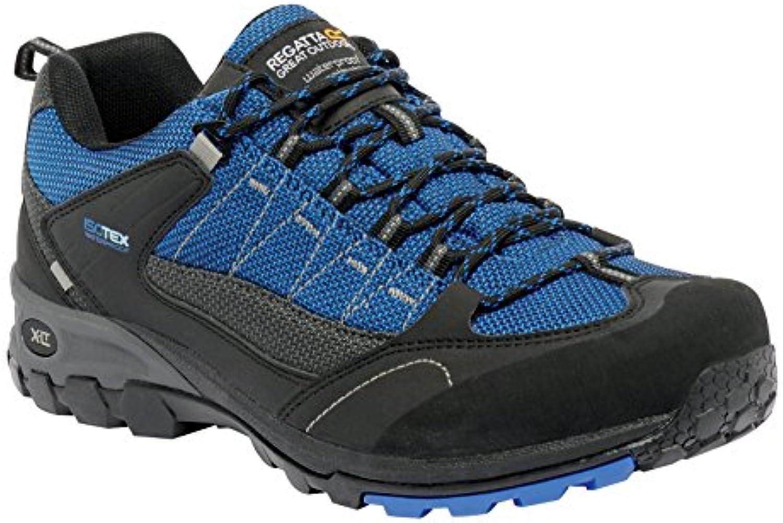 Regatta Mens Ultra-Max 2 Low Waterproof Breathable Walking Shoes Black