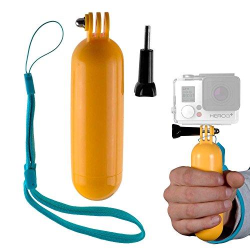 yayago Hand Griff Stativ Monopod für Rollei Actioncam 415 Floaty Bopper Auftrieb Halter