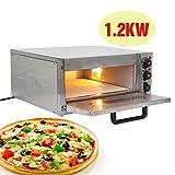 Ridgeyard 1.2KW elektrische thermometer pizzaofen Pizza Maker Ofen Maschine kommerzielle