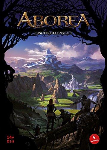 ABOREA Tischrollenspiel (6. Edition): Für 1 bis 8 Spieler