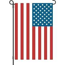 12in giardino bandiera–Bandiera USA