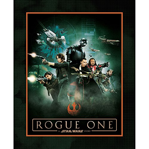 Star Wars Rebel Rouge One Licenced Fabric from Camalot (Rogue one a star wars story cotton panel 36inx 44 in 7370112P-1)
