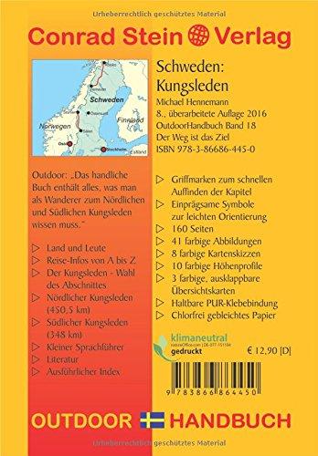 Schweden: Kungsleden (OutdoorHandbuch) (Der Weg ist das Ziel): Alle Infos bei Amazon