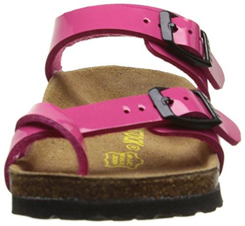 Birkenstock Taormina, Sandali con Cinturino alla Caviglia Bambina Rosa (Vernis Pink)