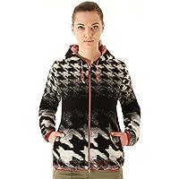 'Villaggio–Walk giacca/giacca in maglia con cappuccio Donna Walker 5