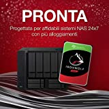 Seagate ST14000NEZ008 / NE0008 - Disco rigido interno IronWolf Pro per 1 - 24 sistemi NAS Bay, 3, 5 pollici, 14 TB, argento