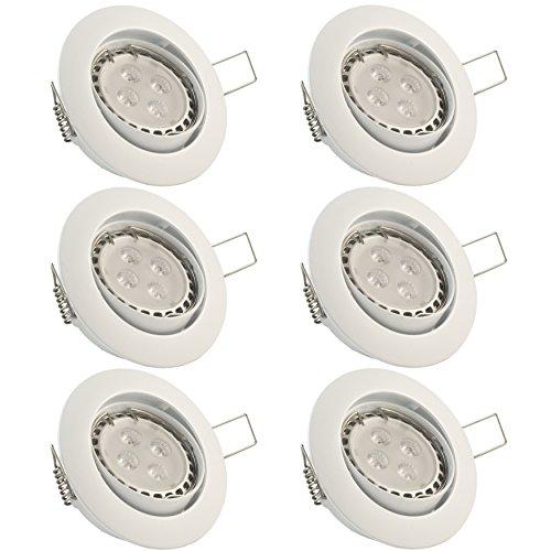 evolution-gu10-led-luci-da-incasso-set-di-6-riflettori-soffitto-bianco-freddo-led-in-modo-articolato