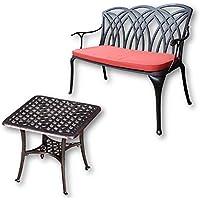 Lazy Susan - Tavolino basso quadrato da