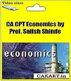 #10: CAKART CA CPT Economics by Prof. Satish Shinde (DVD)