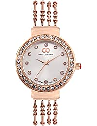 Inara By Gio Collection Analog Silver Dial Women Watch- G2101-44